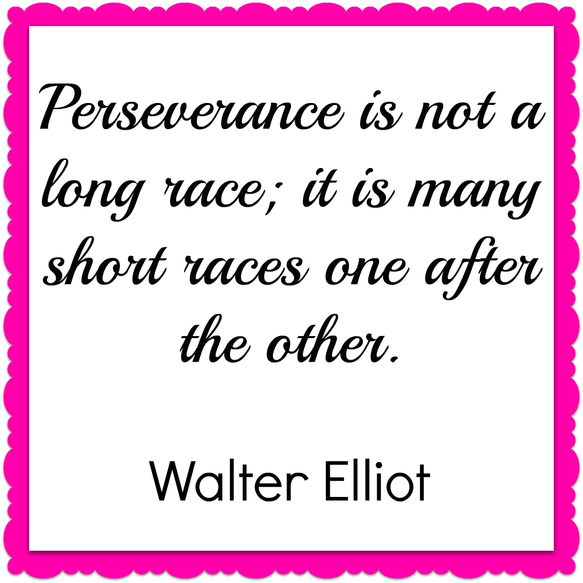 Persevering Quotes: Quote Of The Week- Walter Elliot