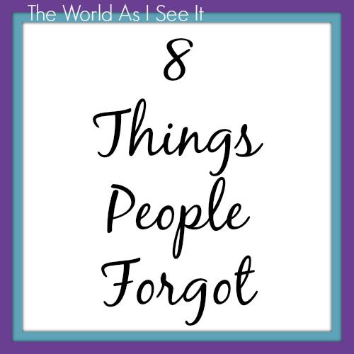 8 Things