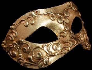 Colombina style Carnival Mask