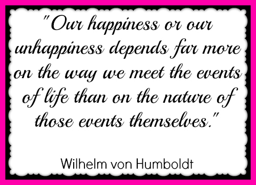 Events & Happiness