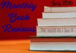 Monthly Book Reviews: July 2016