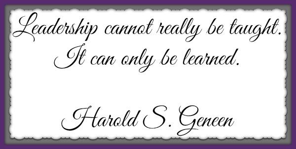 Harold S Geneen