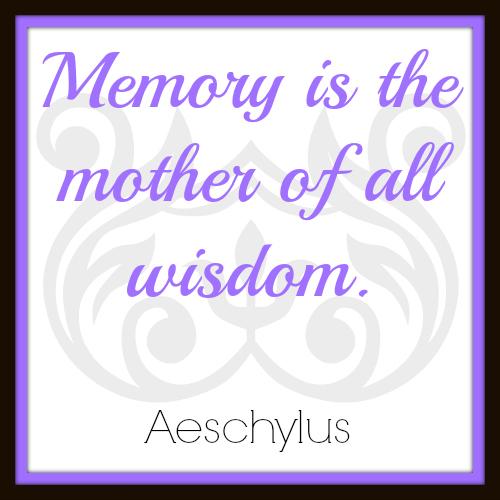 Memory & Wisdom