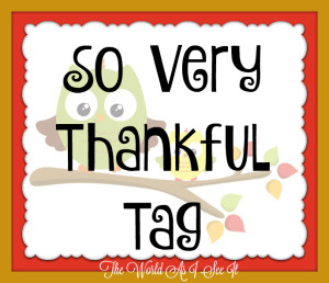 So Very Thankful Tag