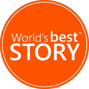 Worlds Best Story Logo